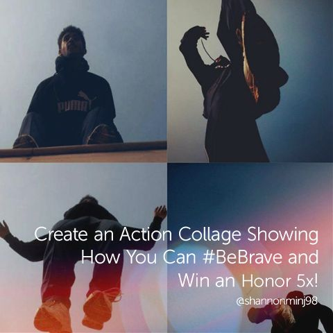 be brave collage contest
