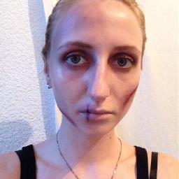 halloween horro makeup fun