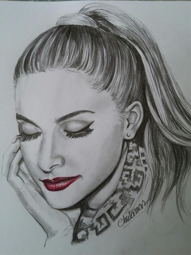 #dcsketch  #drawing #blackandwhite #lightand shading # singer #Ariana