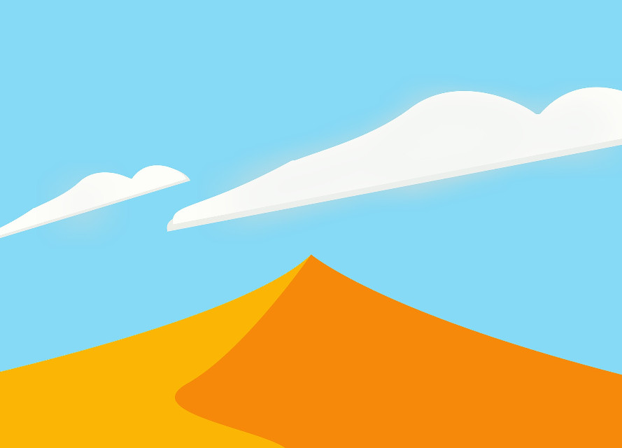 #yellow #sky #dust #desert #minimalistic #minimal #abstract #cloud #clouds #nature