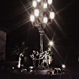lighting night streets artistic