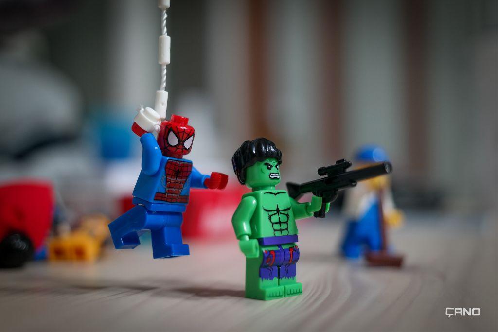 #spiderman and #hulk  #lego #hobby