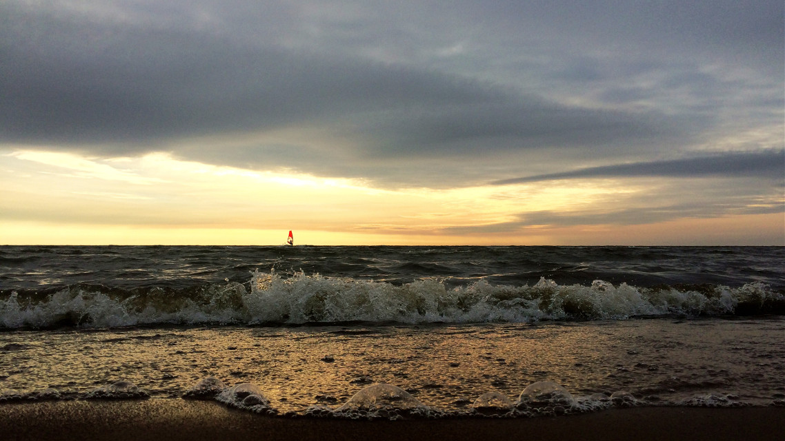 #sea  #sky #nature