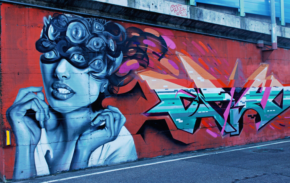 #colorful #cute #people #photography #popart #streetart #graffiti  #colorplay