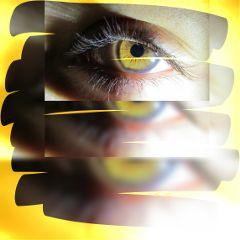 photography blur daughter eye shapemask
