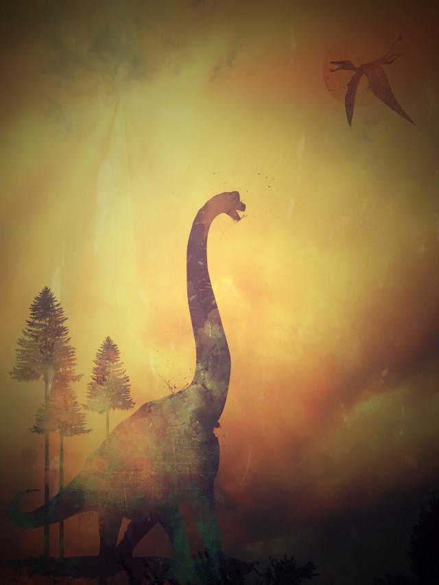 #lomoeffect #dinosaurs #clipart