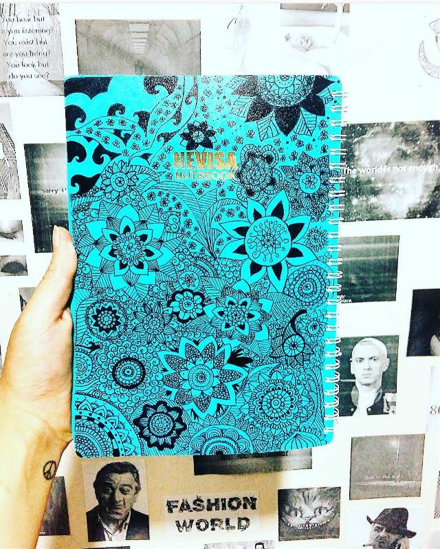 #art #book #blue