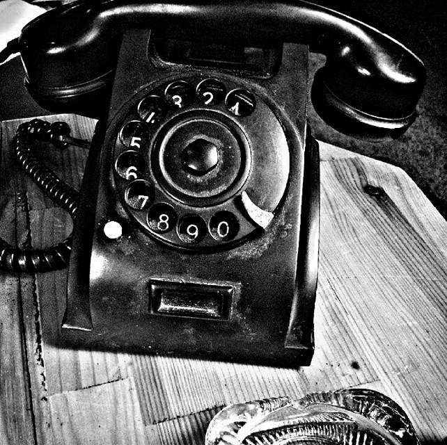 #retro #vintage #oldphoto #blackandwhite #telephone #nostalgia
