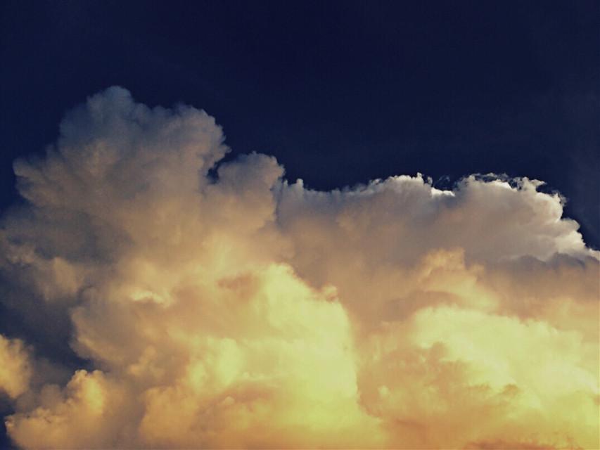 #clouds  #sky  #sunset