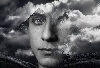 madewithpicsart portrait clouds surreal mystery