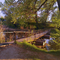 kharkov bridge suburb харьков river