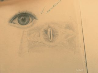 sketch sketchbook eyes