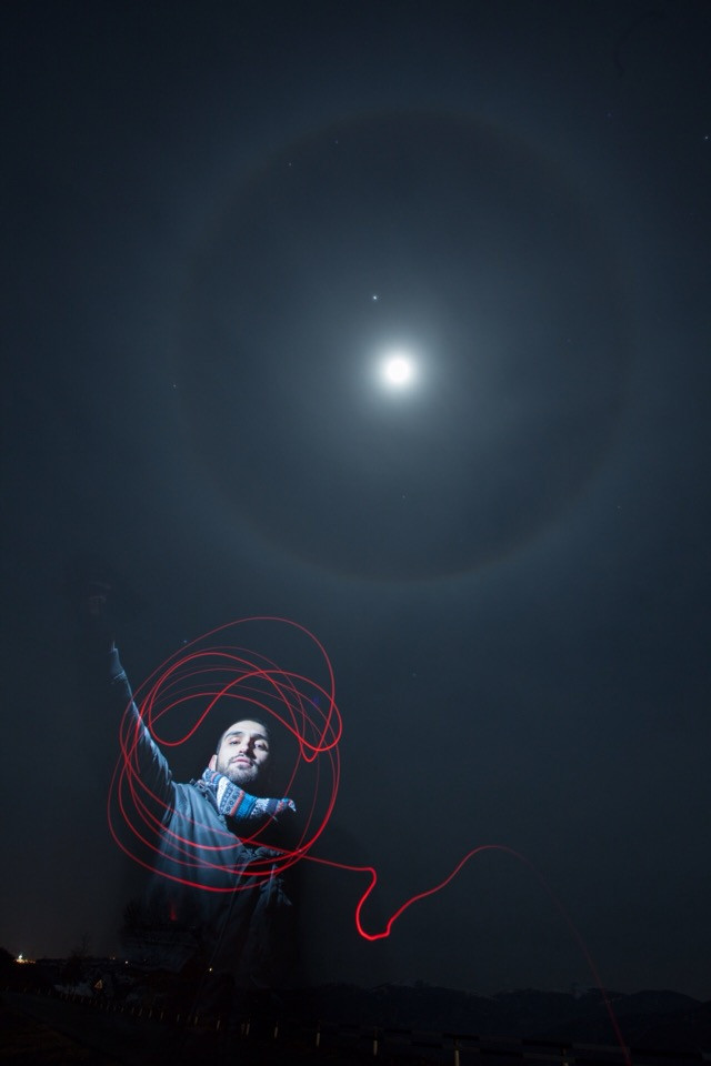 #freetoedit #photography #me #portrait #moon #moonlight #areol  #sky
