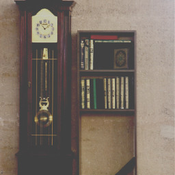 photography clock brown