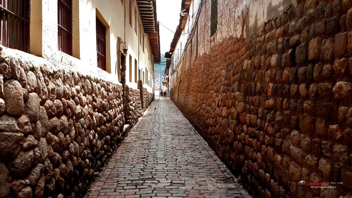 Callejuela. Cusco.