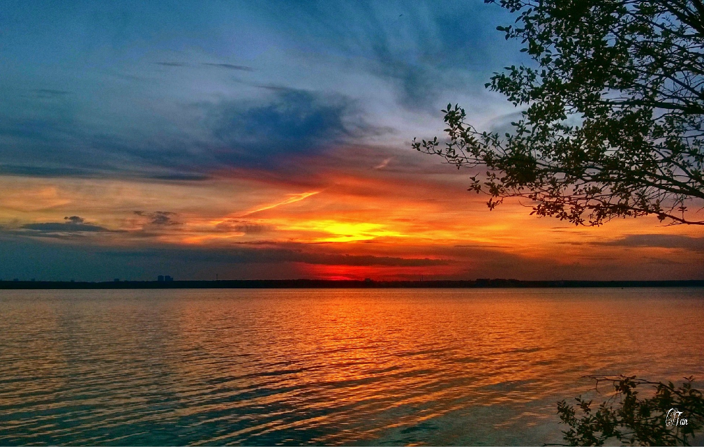 #sunset #colorful #hdr #photography #lake