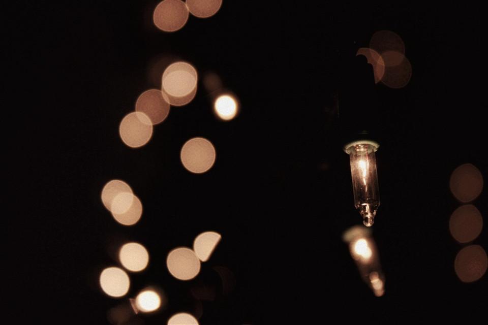 #christmas #lights #bokeh #homemade