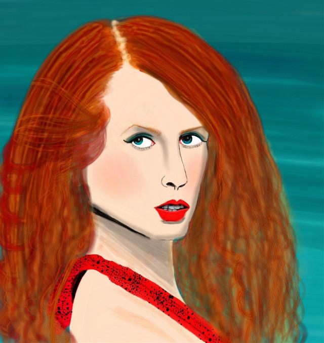 #wdpportrait  #people #pencilart #cute #emotions #digitalart #digitaldrawing #digitalpainting #myart #art #myview #makeup #girl #portrait