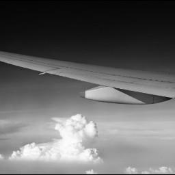 blackandwhite photography travel plane singapore