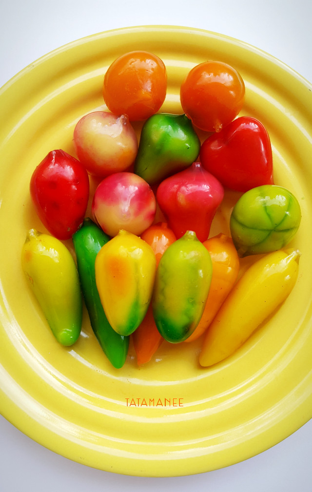 Colourful all day #sweeties #sweet #thaistyle #delicious #dessert #fat #womaninlove