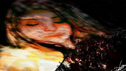 blackandwhite colorsplash colorful emotions cute