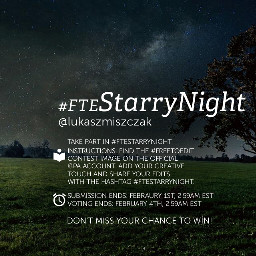 starrynight contest editing