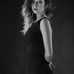 blackandwhite photography portrait eyes woman
