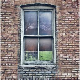bricks window grunge weathered urban
