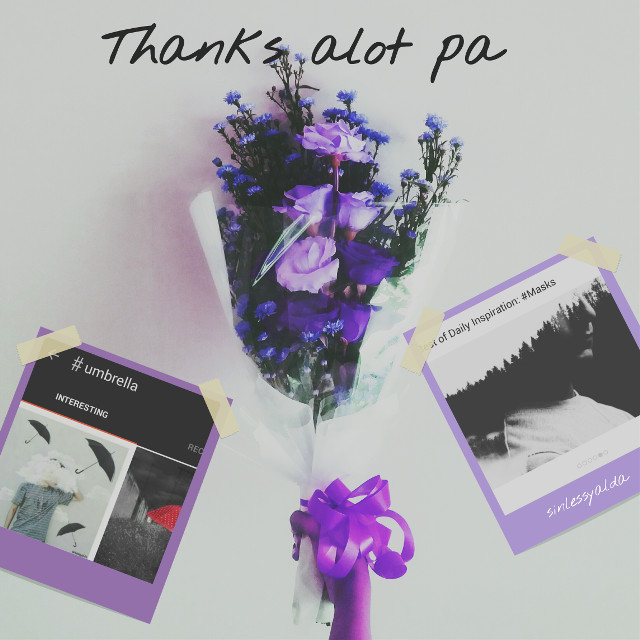 Hiii my dearest PA FAMILY 💜  @pa thank you soooo much first for show my pic in today's insprition (#umbrella)  then wanna thank again for choosing my pic as best of (#masks)  Really happy😍💕 And thank you very much my lovely friends for supporting me😘💞 #freetoedit pic by dear @fibriishaumii #happy #flowers  #love  #pa  #purple