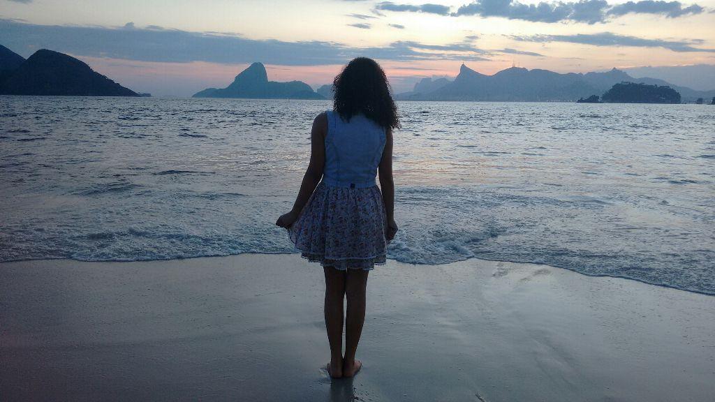 #Céu e mar #Deus pra amar .