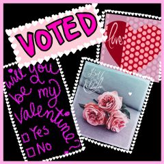 voted contest valentinesday quotesandsayings pink