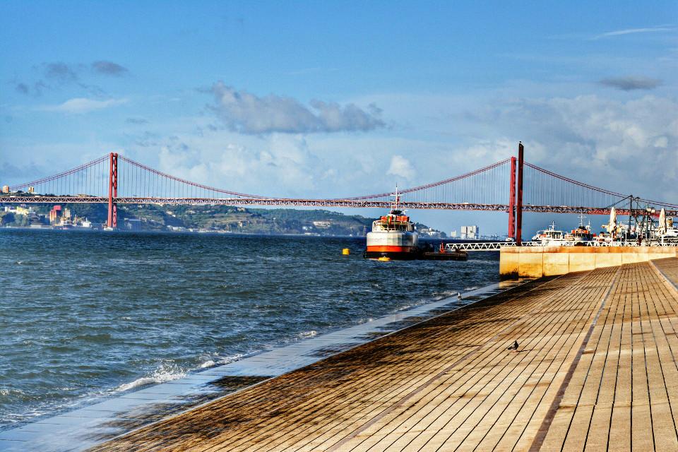 Rio Tejo. Lisboa #lisbon #lisboa #travel