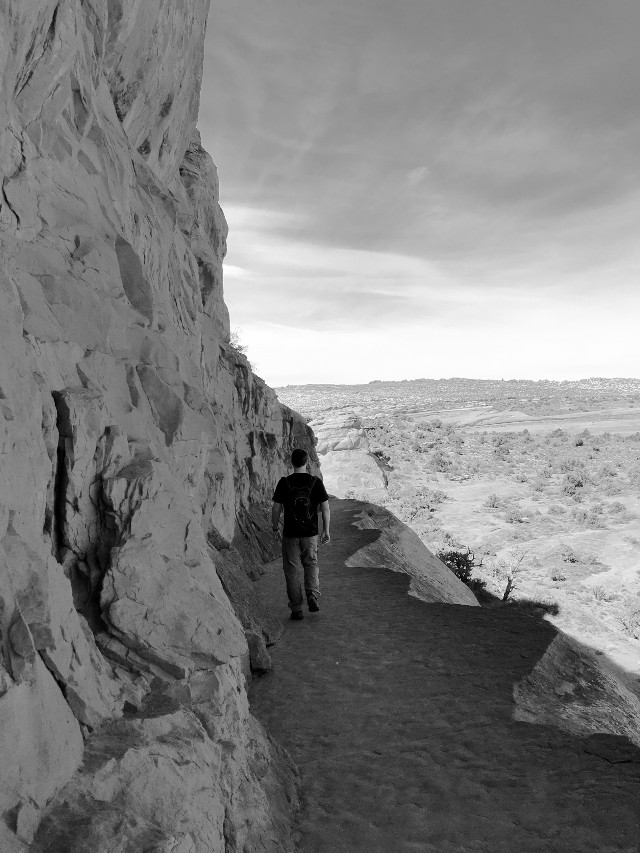 #utah #cliff #hike
