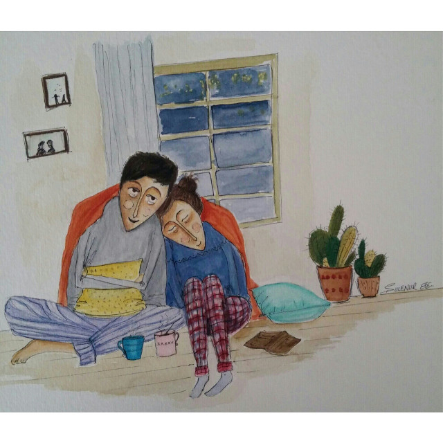 #illustration #illust #sketchbook #illustrationoftheday #colors #drawingoftheday #draw #mywork #artwork #creativework #paint #painting #drawing #eskiz #love #like #artsy #artist #arte #art #illustrationart #good #childrenbookillustration #book #sketch #sketching #blue #watercolor