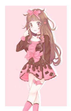 kawaii drawing oc anime