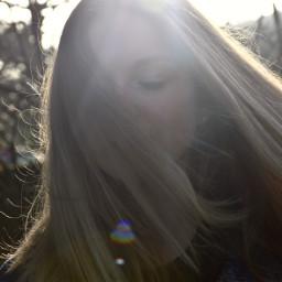 nature me girl hair blonde