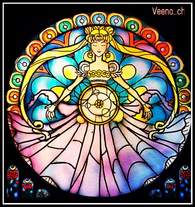 #wdpstainedglass #drawing #mydrawing #draw #art #digitalart #digitaldtawing #stainedglass Not my best work.. I am not well and lazy to do detailed work.. Sorry 😞 Web reference used