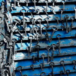 key colorsplash blue