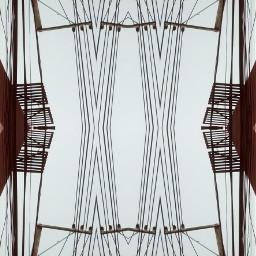 interesting art lines powerplant cool