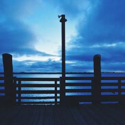 sunrise pier ocean photography