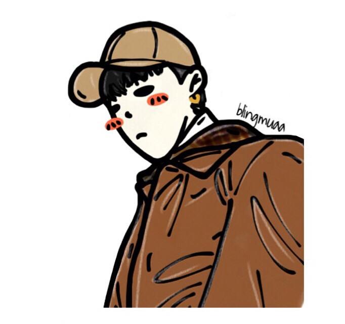 #bigbang#VIP#YG#gd#gdragon#권지용#카툰#그림#미술#팬#fanart#drawing#painting#comic