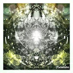 totem ufoart coloreffect abstractart digitalart