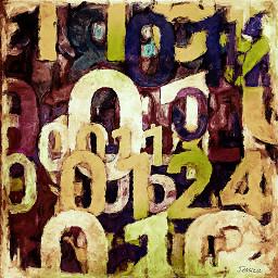 numbers painting createdbyme createdwithandroid dailyinspiration