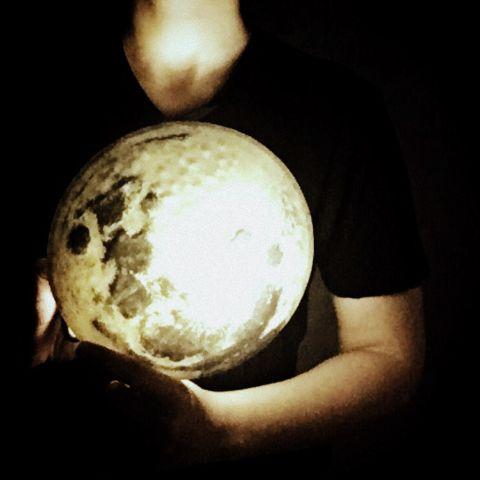 moon photography art artisticselfie retro
