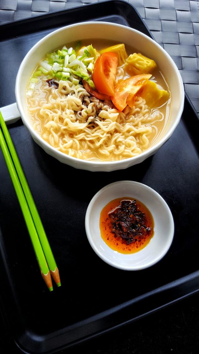 Spicy  noodle ……