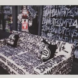 interesting graffiti polaroid fujifilm sanfrancisco