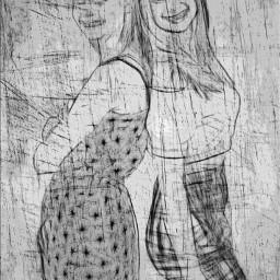 portrait girls