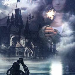 ftesparkler fantasy light edited rain