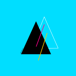 triangles dailyinspiration lines colorful digitaldrawing
