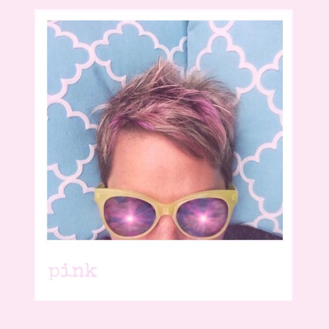 #lensflare #pink #hair #antiselfie  #frame  #paphotochallenge #madewithpicsart #myphotomyedit